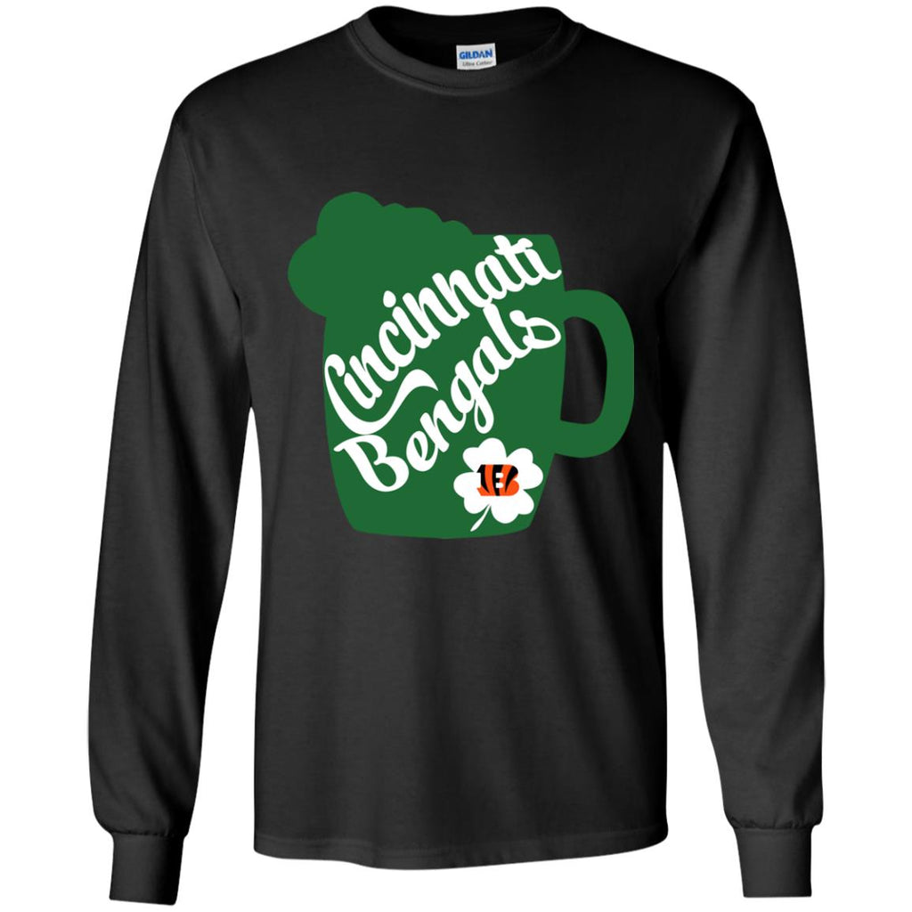 Amazing Beer Patrick's Day Cincinnati Bengals T Shirts