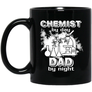Chemist By Day Dad By Night Mugs