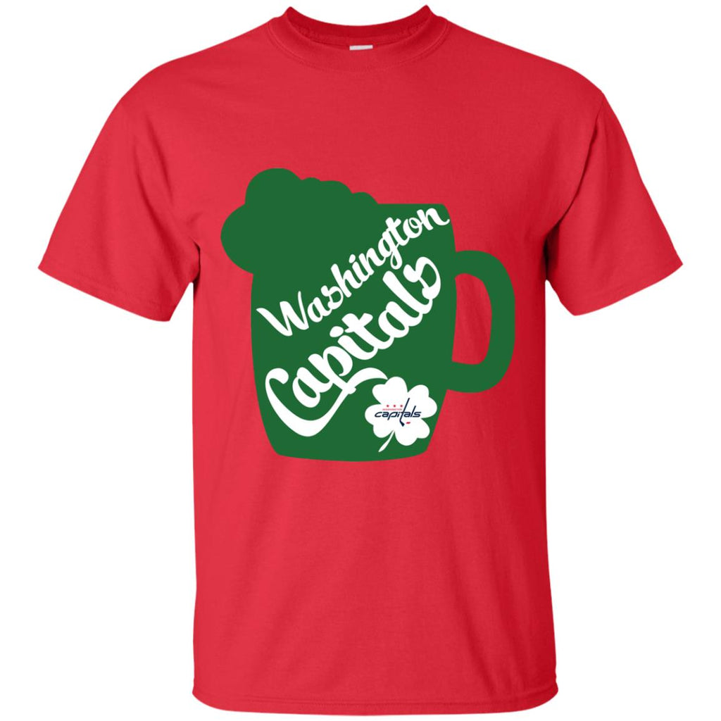 Amazing Beer Patrick's Day Washington Capitals T Shirts
