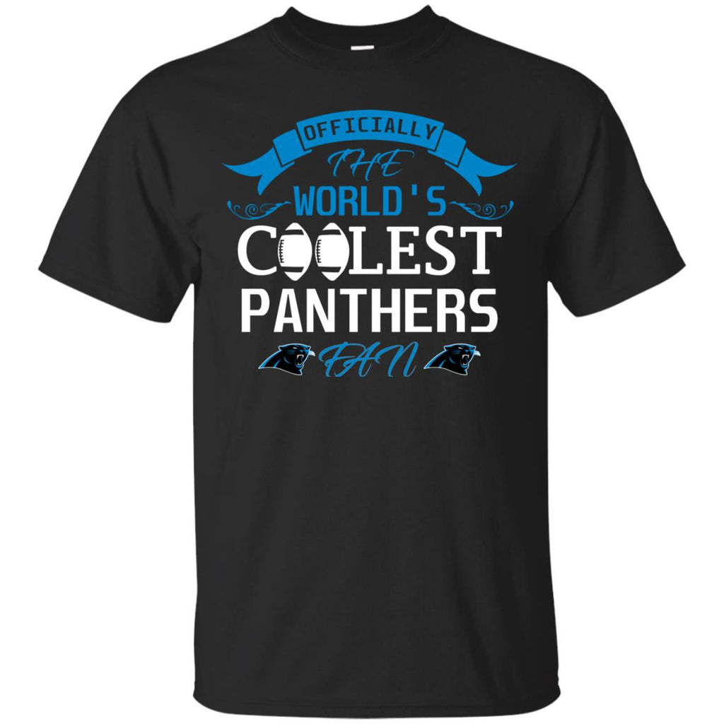 Officially The World's Coolest Carolina Panthers Fan T Shirts  for cheap
