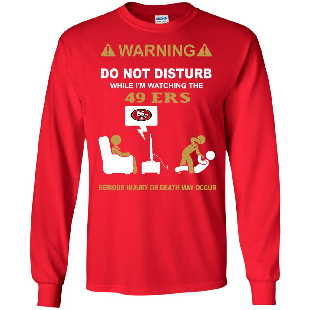 Do Not Disturb TV San Francisco 49ers T Shirt - Best Funny Store