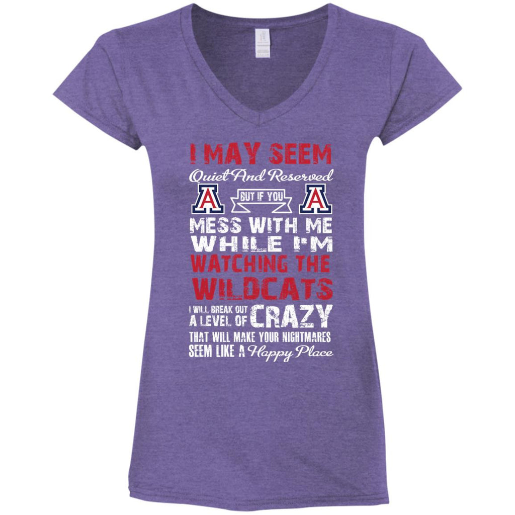 I May Seem Arizona Wildcats T Shirt - Best Funny Store
