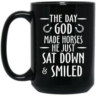 Horse Mug - The Day God Made Horses Coffee Mug