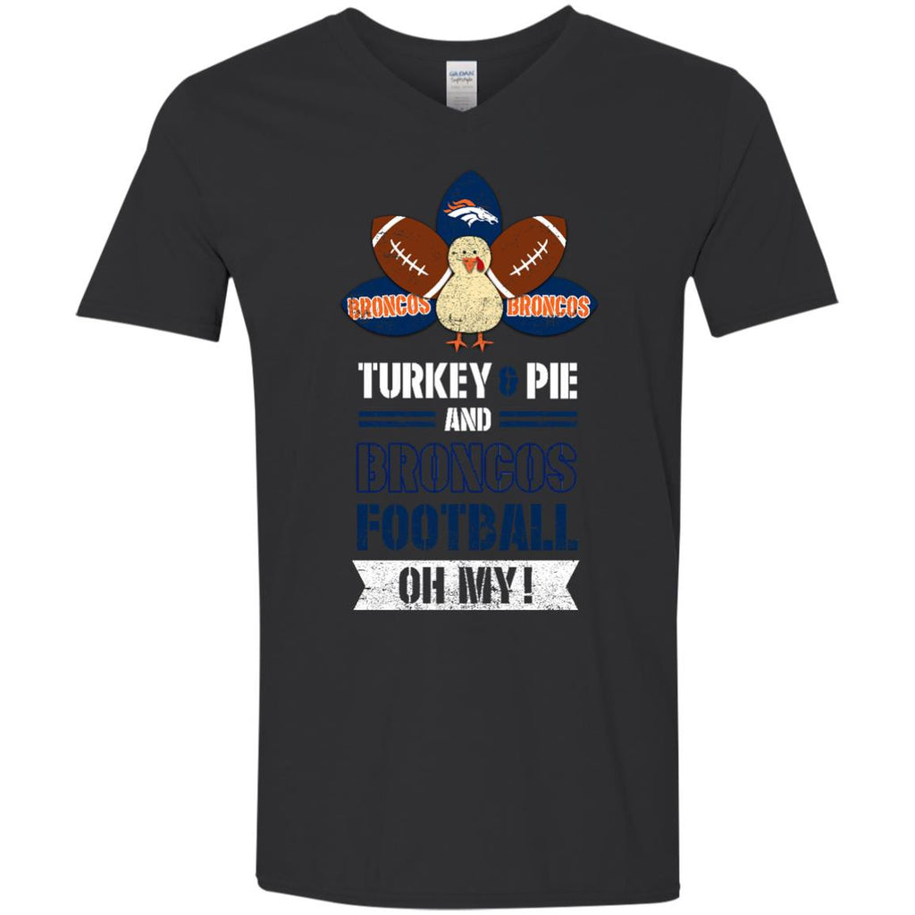 Thanksgiving Denver Broncos T Shirts - Best Funny Store