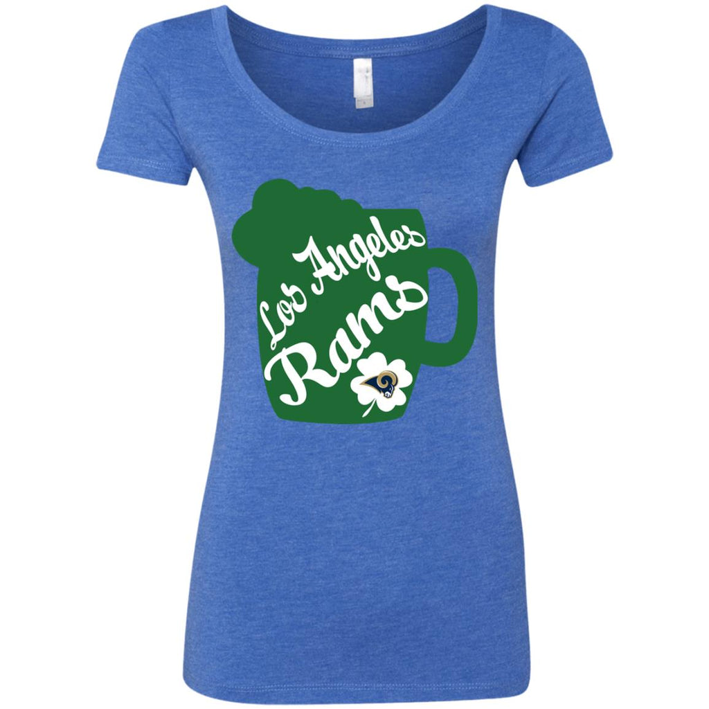 Amazing Beer Patrick's Day Los Angeles Rams T Shirts