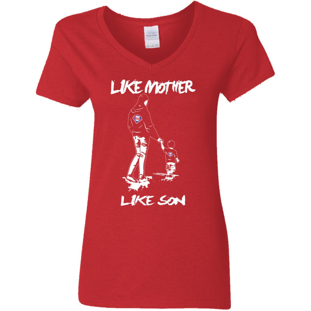 Like Mother Like Son Philadelphia Phillies T Shirt