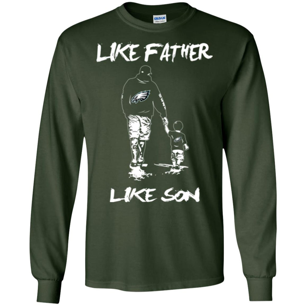 the latest 15c9e 74347 Like Father Like Son Philadelphia Eagles T Shirt