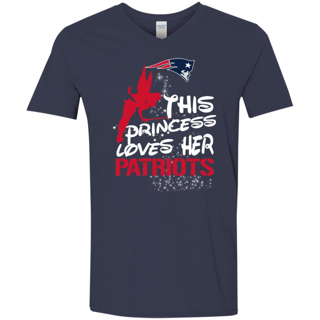 This Princess Love Her New England Patriots T Shirts
