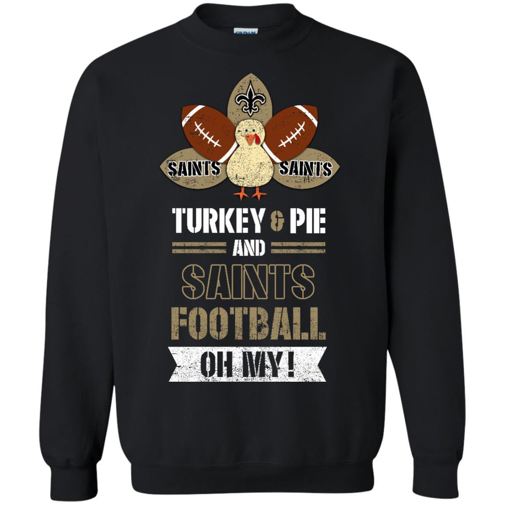 Thanksgiving New Orleans Saints T Shirts - Best Funny Store
