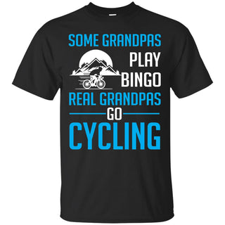 Real Grandpas Go Cycling T Shirts