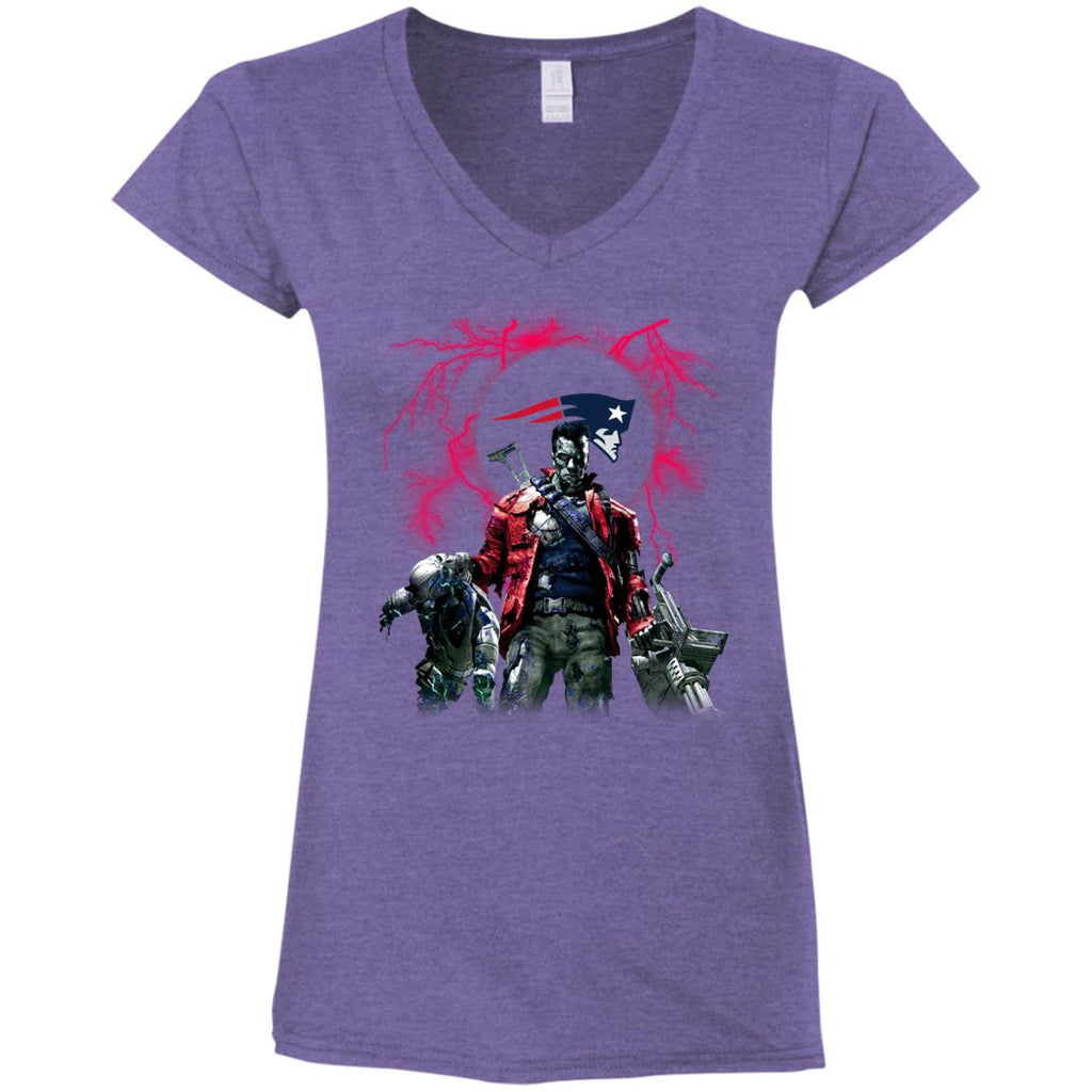 Guns New England Patriots T Shirt - Best Funny Store