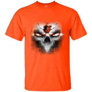 Baltimore Orioles Skulls Of Fantasy Logo T Shirts