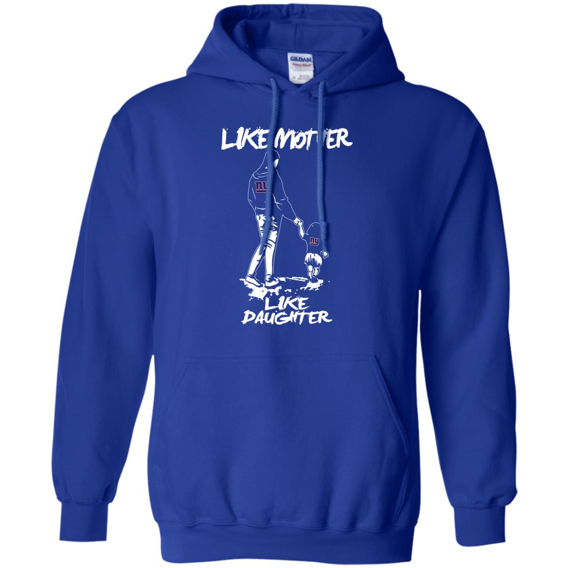 Like Mother Like Daughter New York Giants Hoodie