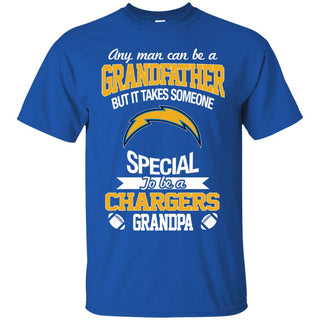 It Takes Someone Special To Be A Los Angeles Chargers Grandpa T Shirts