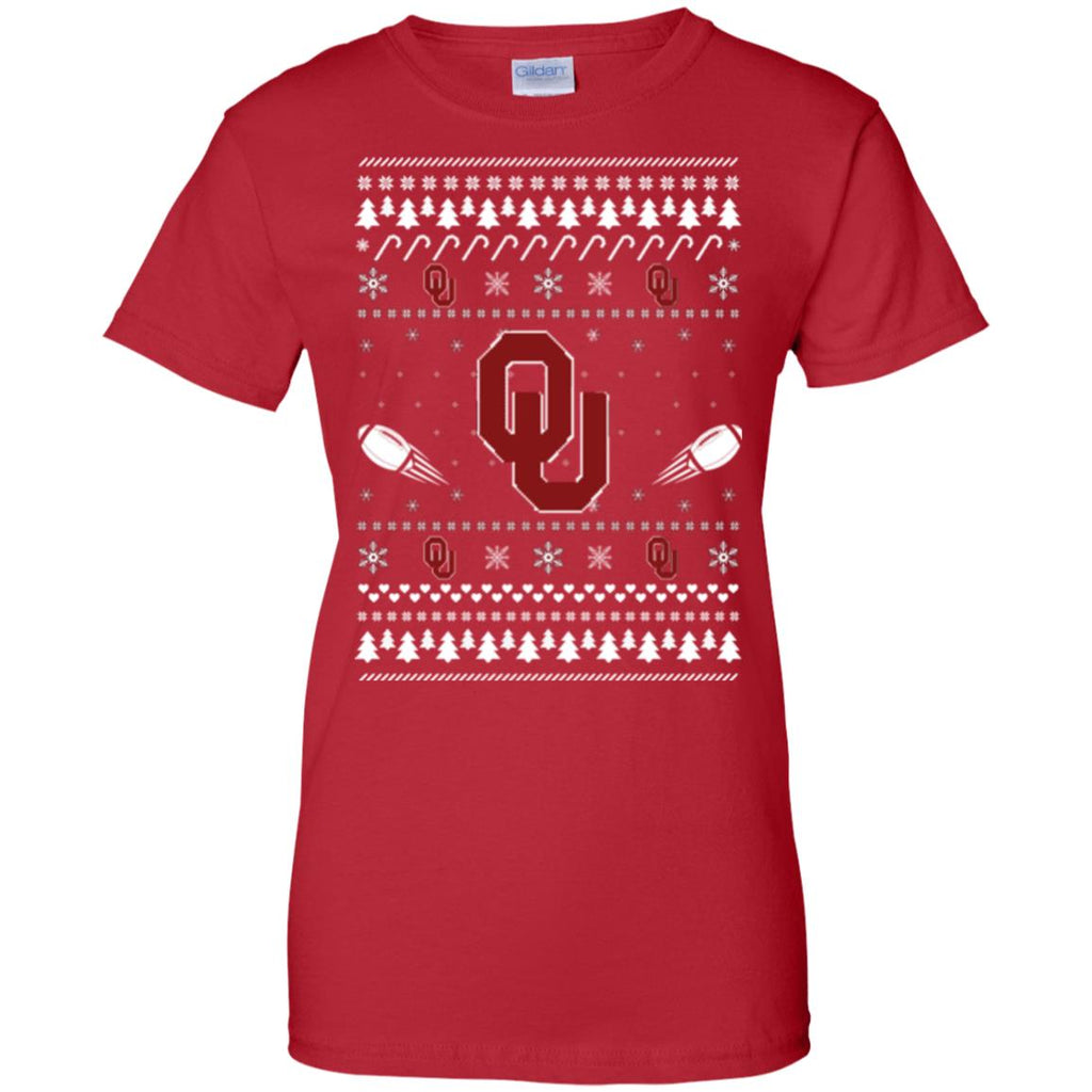Oklahoma Sooners Stitch Knitting Style Ugly T Shirts