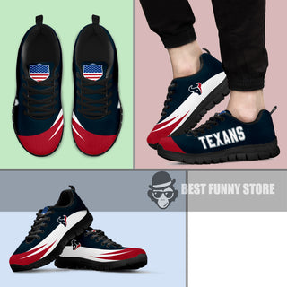 Awesome Gift Logo Houston Texans Sneakers