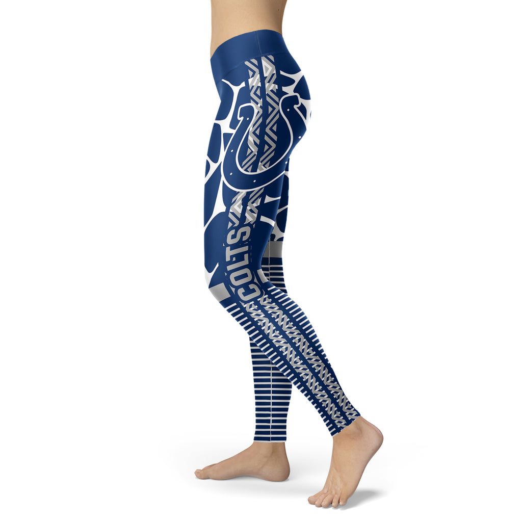 Cool Air Lighten Attractive Kind Indianapolis Colts Leggings