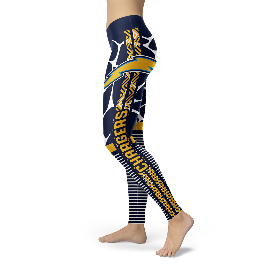 Cool Air Lighten Attractive Kind Los Angeles Chargers Leggings