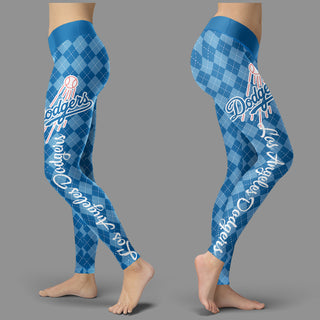 Cosy Seamless Border Wonderful Los Angeles Dodgers Leggings