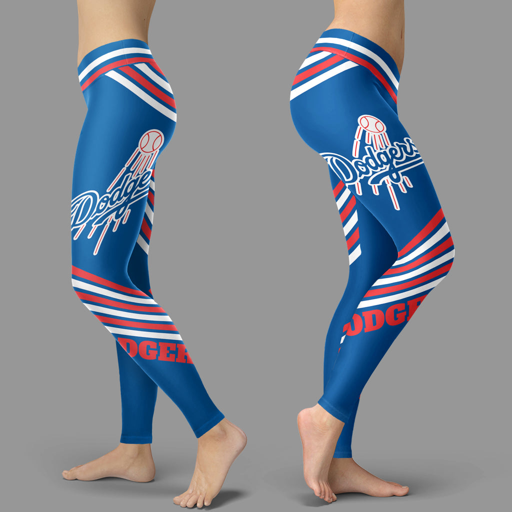 Straight Cute Beautiful Attractive Los Angeles Dodgers Leggings