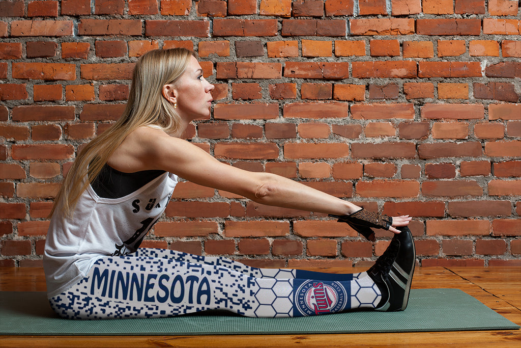 Incredible Patterns Luxury Nice Minnesota Twins Leggings