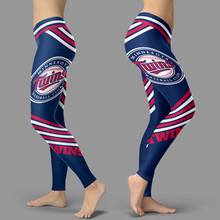 Straight Cute Beautiful Attractive Minnesota Twins Leggings