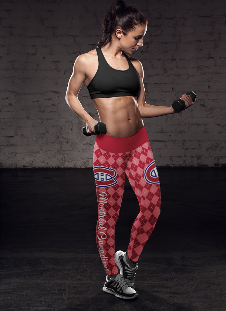 Cosy Seamless Border Wonderful Montréal Canadiens Leggings