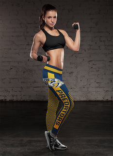 Fashion Gorgeous Fitting Fabulous Nashville Predators Leggings
