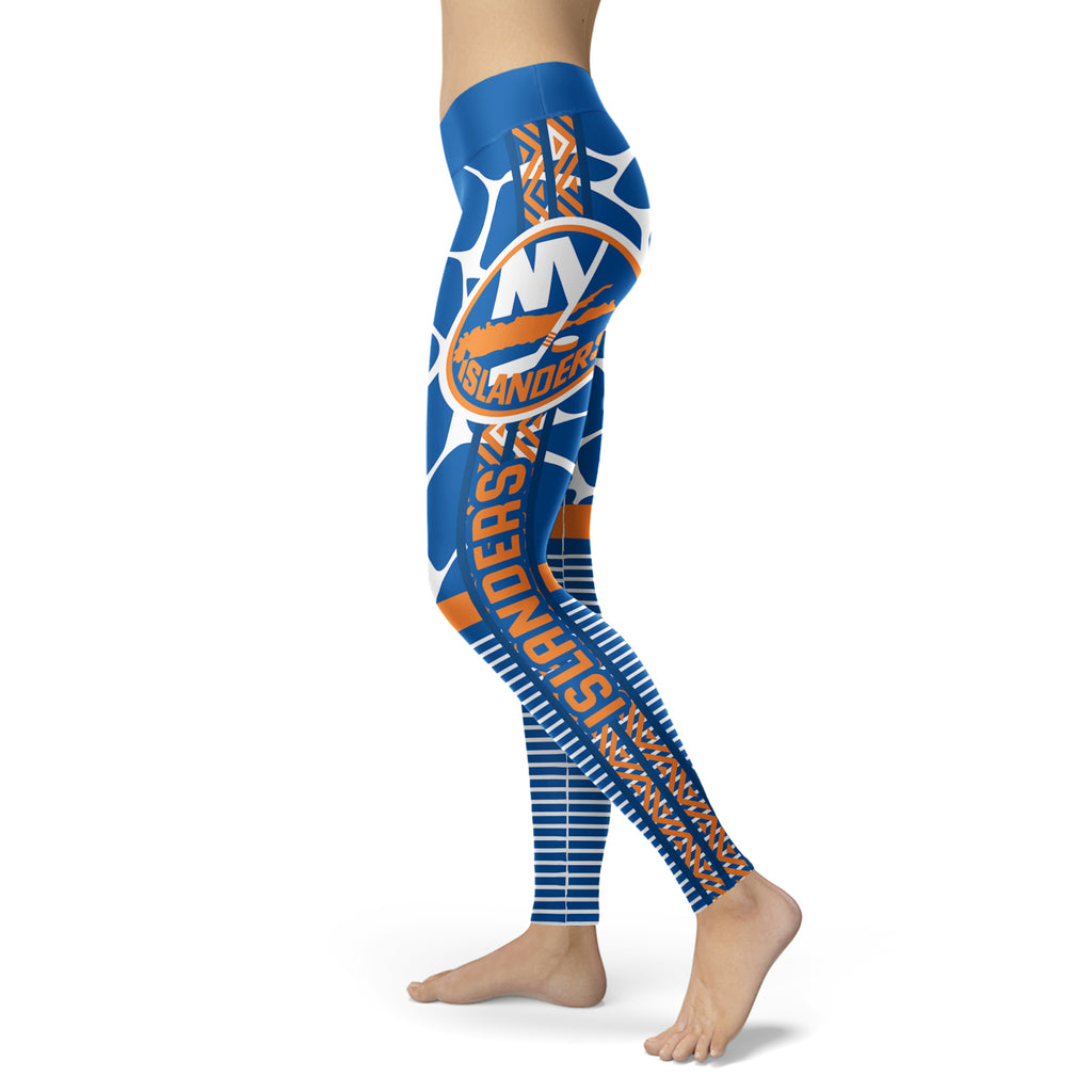 Cool Air Lighten Attractive Kind New York Islanders Leggings