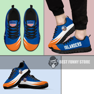 Awesome Gift Logo New York Islanders Sneakers