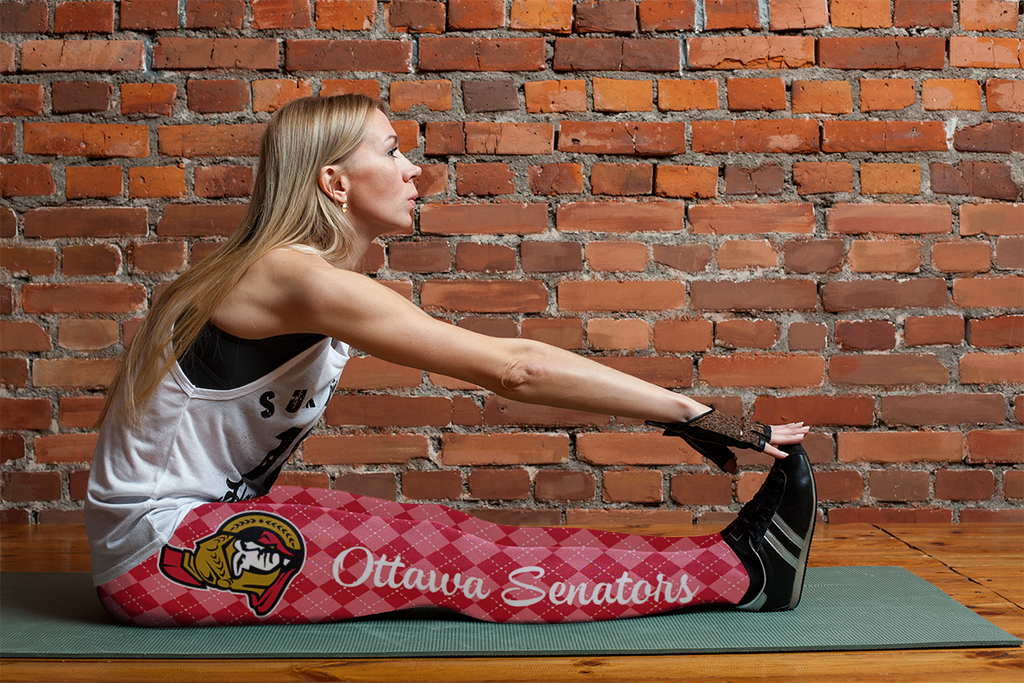 Cosy Seamless Border Wonderful Ottawa Senators Leggings