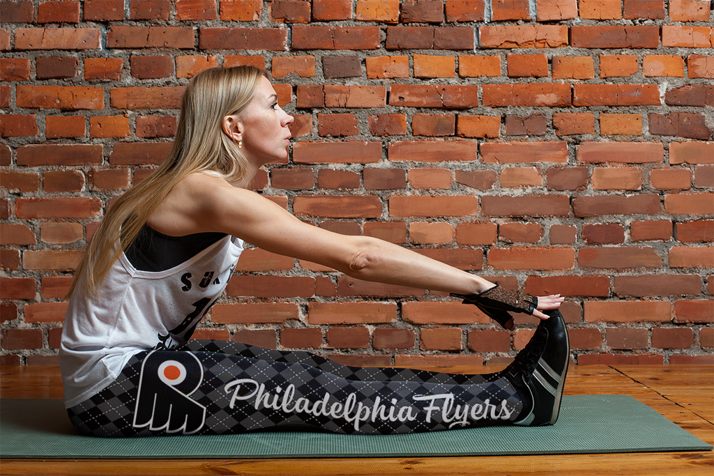Cosy Seamless Border Wonderful Philadelphia Flyers Leggings