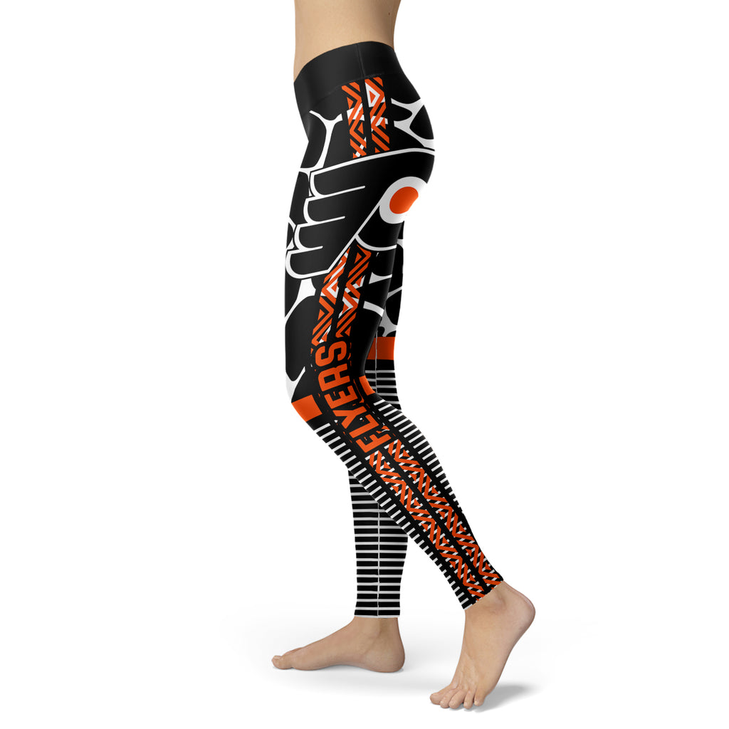 Cool Air Lighten Attractive Kind Philadelphia Flyers Leggings