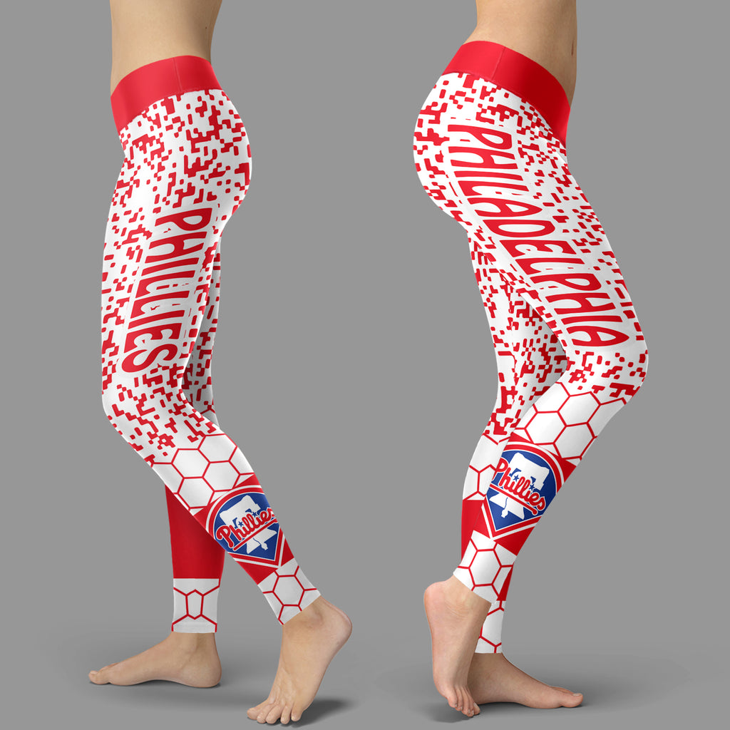 Incredible Patterns Luxury Nice Philadelphia Phillies Leggings