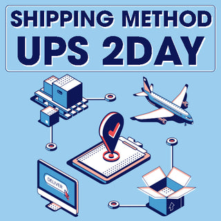 SHIPPING METHOD UPS 2DAY