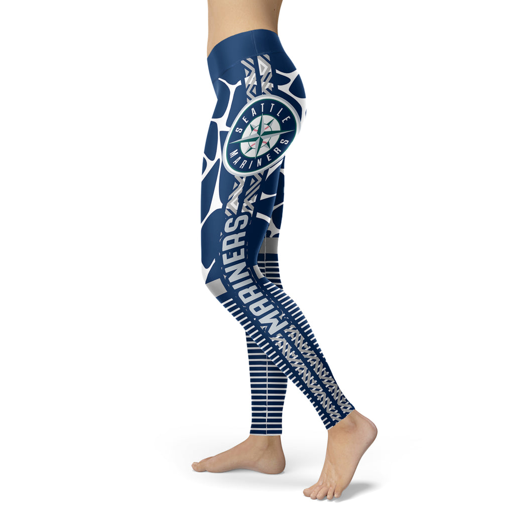 Cool Air Lighten Attractive Kind Seattle Mariners Leggings