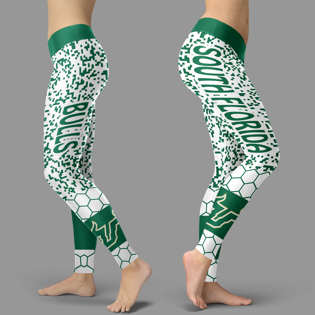 Incredible Patterns Luxury Nice South Florida Bulls Leggings