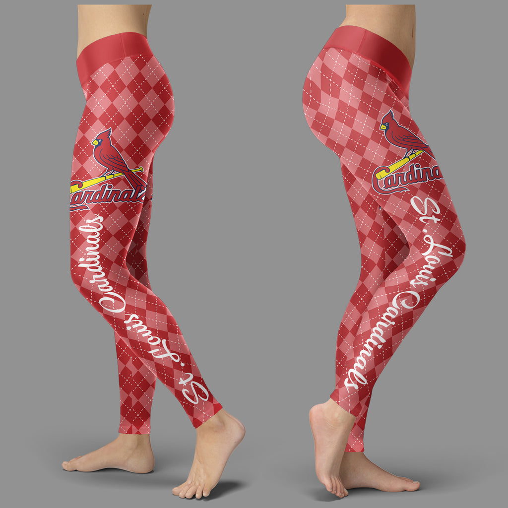 Cosy Seamless Border Wonderful St. Louis Cardinals Leggings