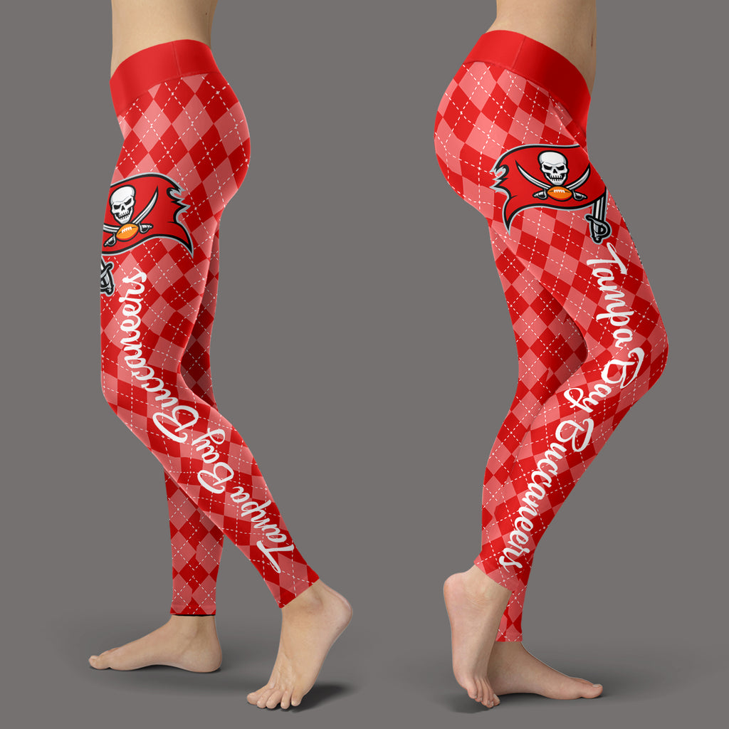 Cosy Seamless Border Wonderful Tampa Bay Buccaneers Leggings