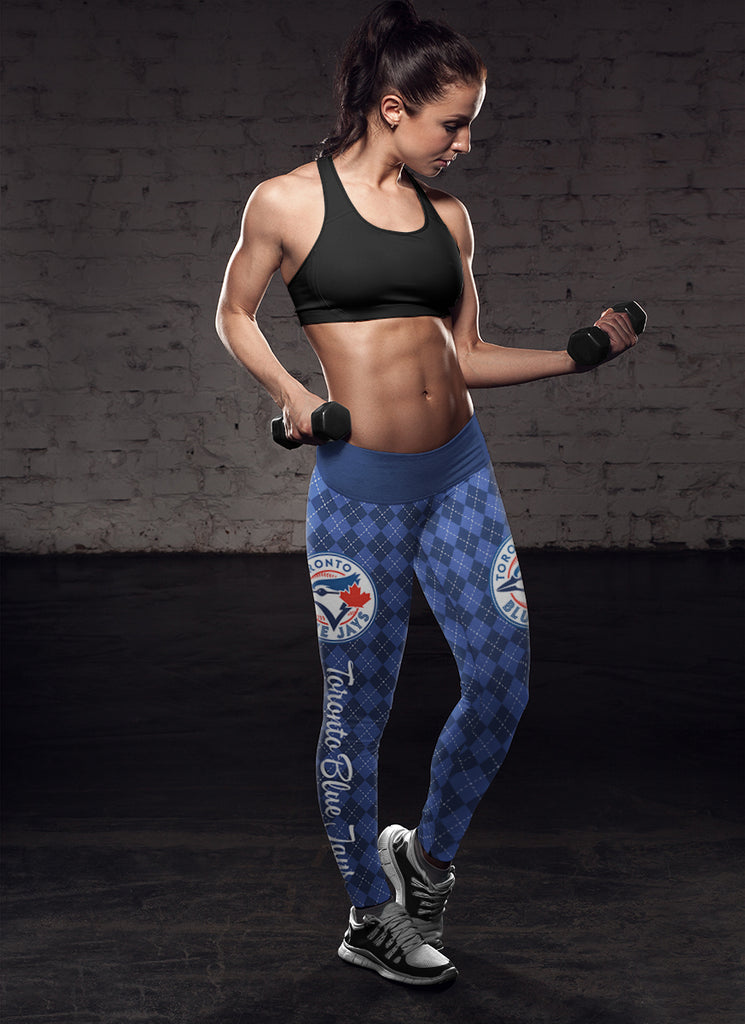 Cosy Seamless Border Wonderful Toronto Blue Jays Leggings