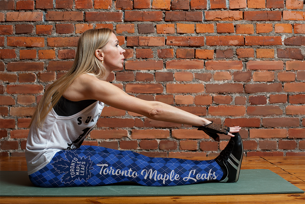 Cosy Seamless Border Wonderful Toronto Maple Leafs Leggings