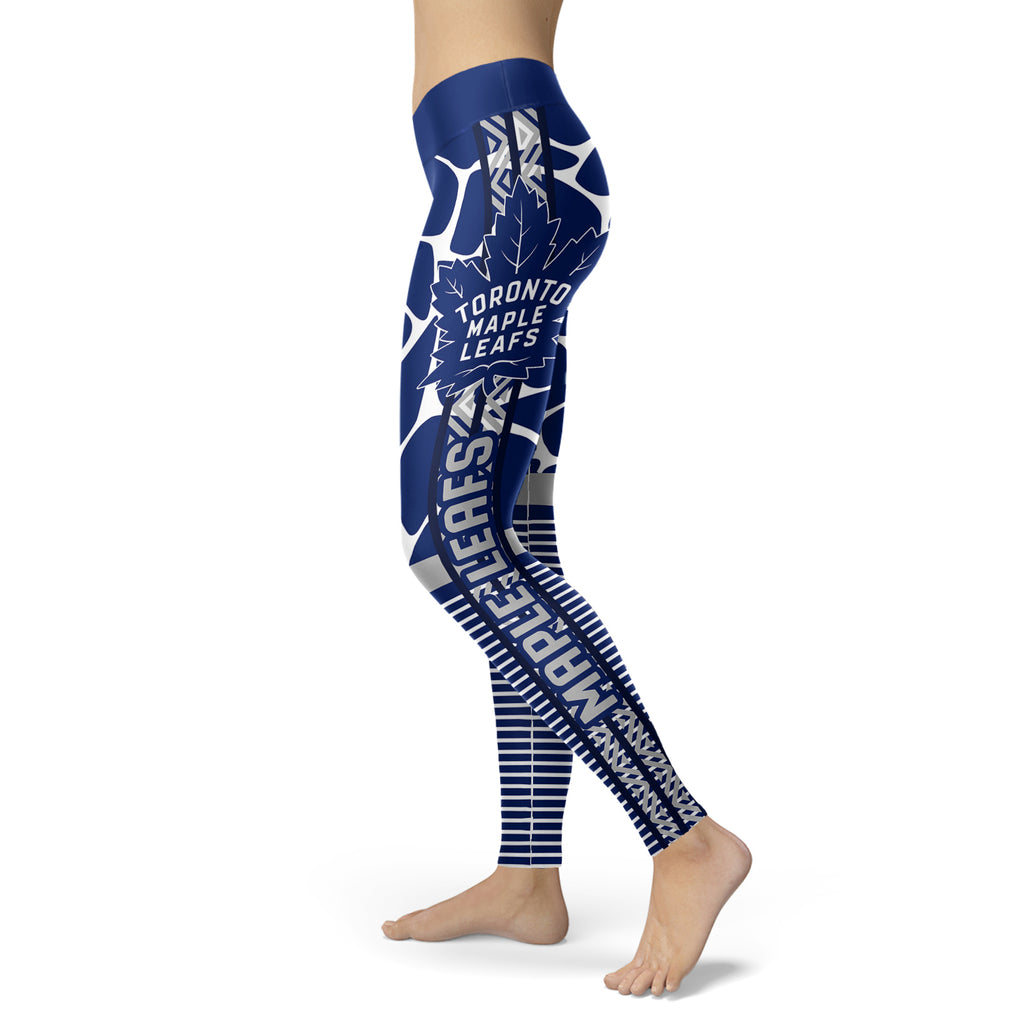 Cool Air Lighten Attractive Kind Toronto Maple Leafs Leggings