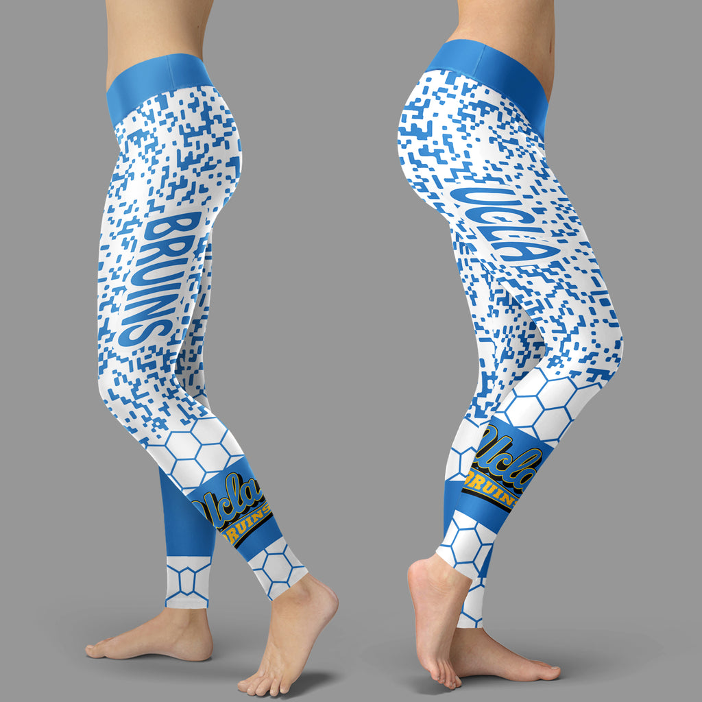 Incredible Patterns Luxury Nice UCLA Bruins Leggings