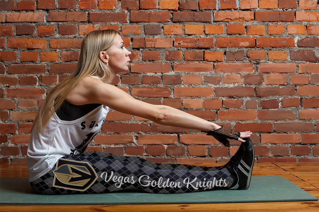Cosy Seamless Border Wonderful Vegas Golden Knights Leggings