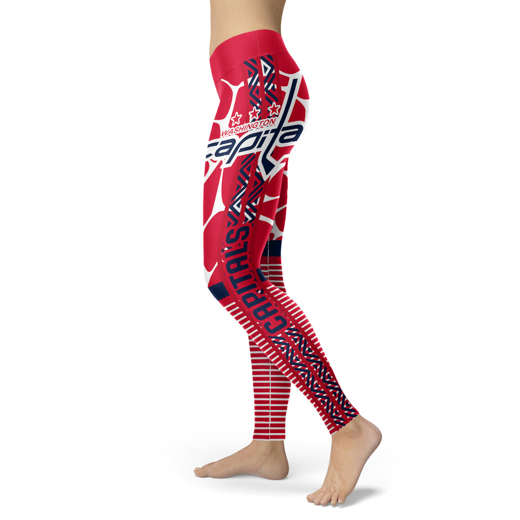 Cool Air Lighten Attractive Kind Washington Capitals Leggings