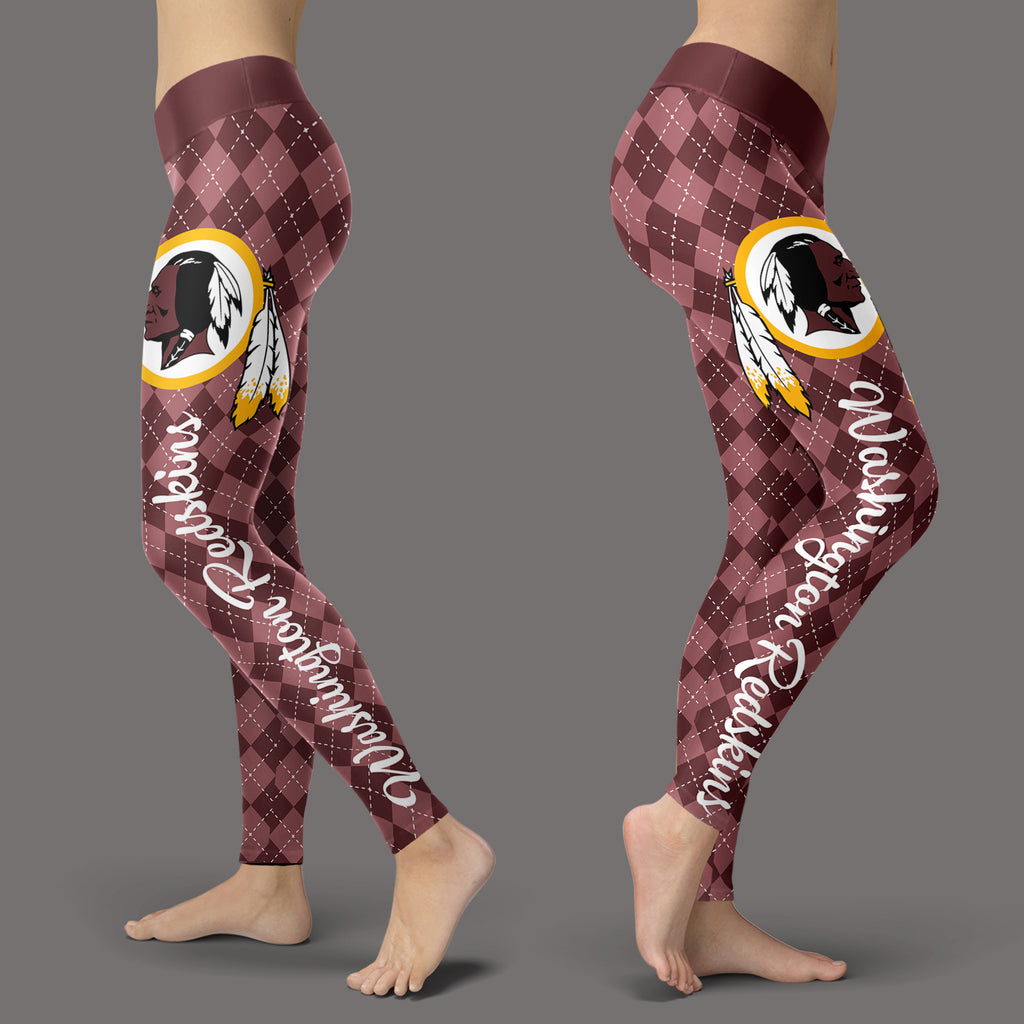 a7ccfcb92 Cosy Seamless Border Wonderful Washington Redskins Leggings – Best Funny  Store