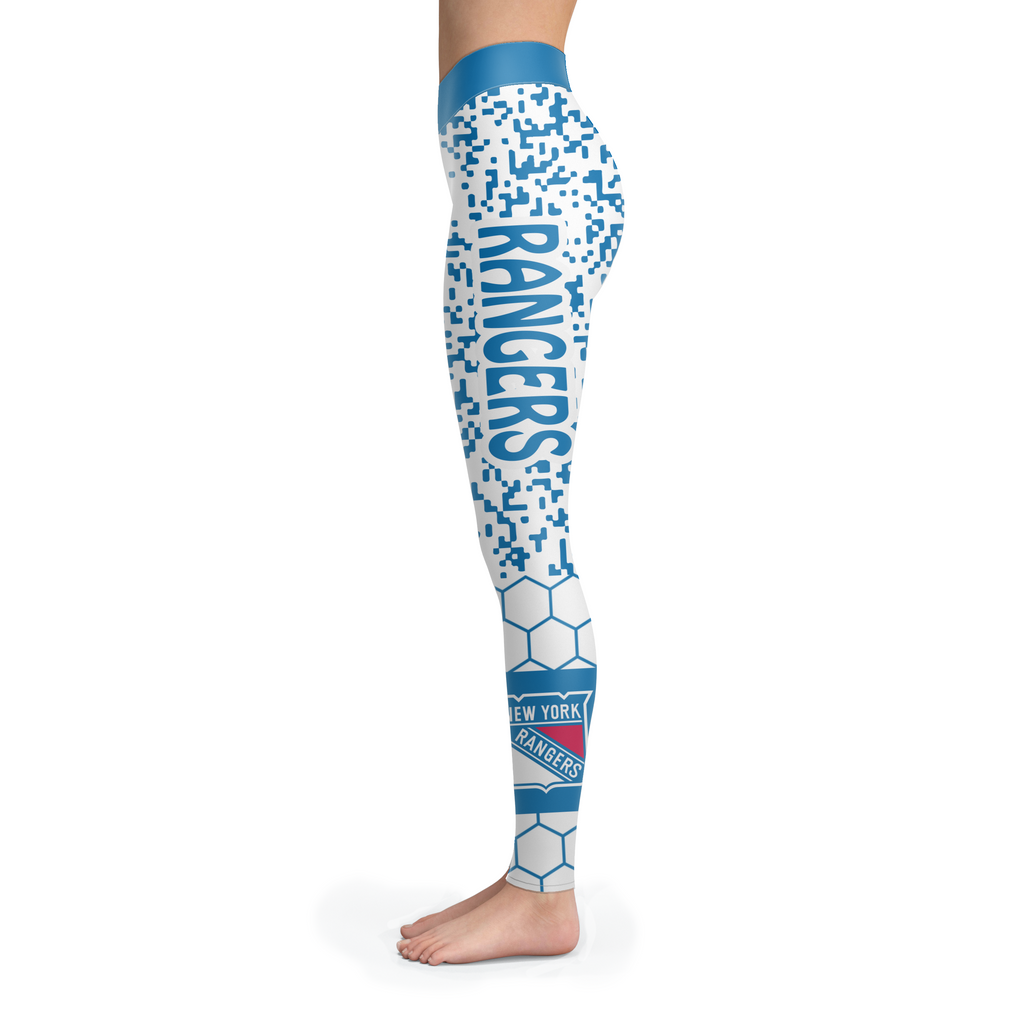 Incredible Patterns Luxury Nice New York Rangers Leggings