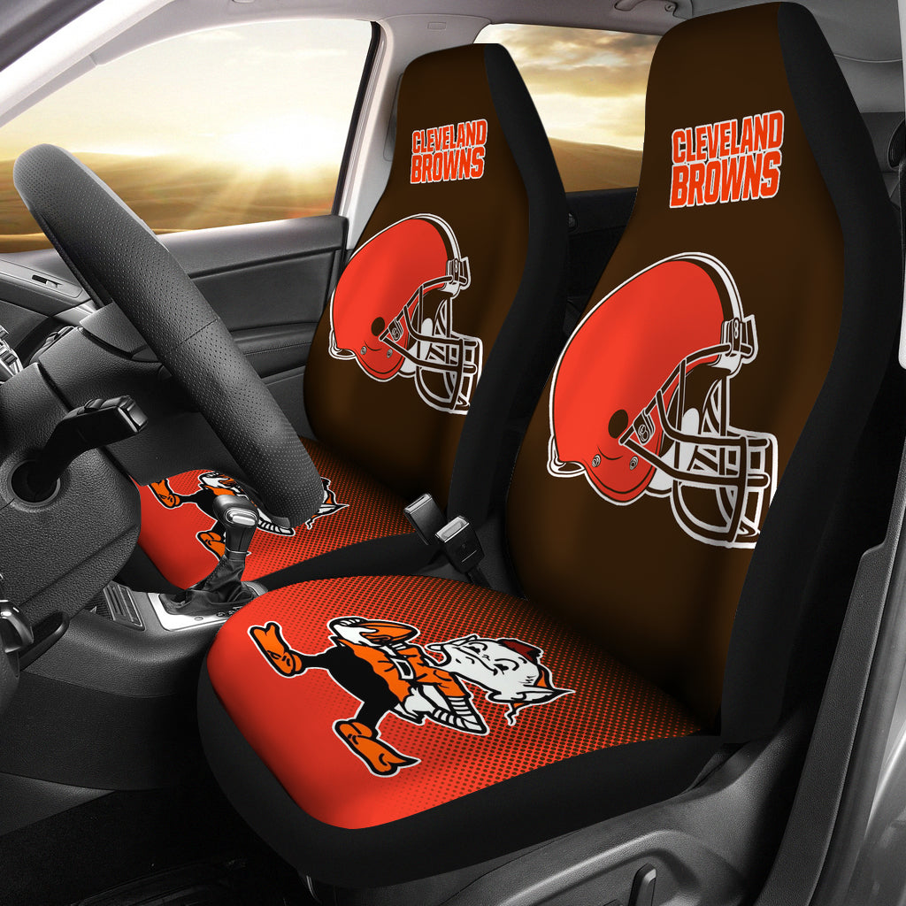 ac16a730 New Fashion Fantastic Cleveland Browns Car Seat Covers