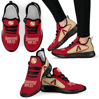 Legend React Arizona Diamondbacks Mesh Knit Sneakers