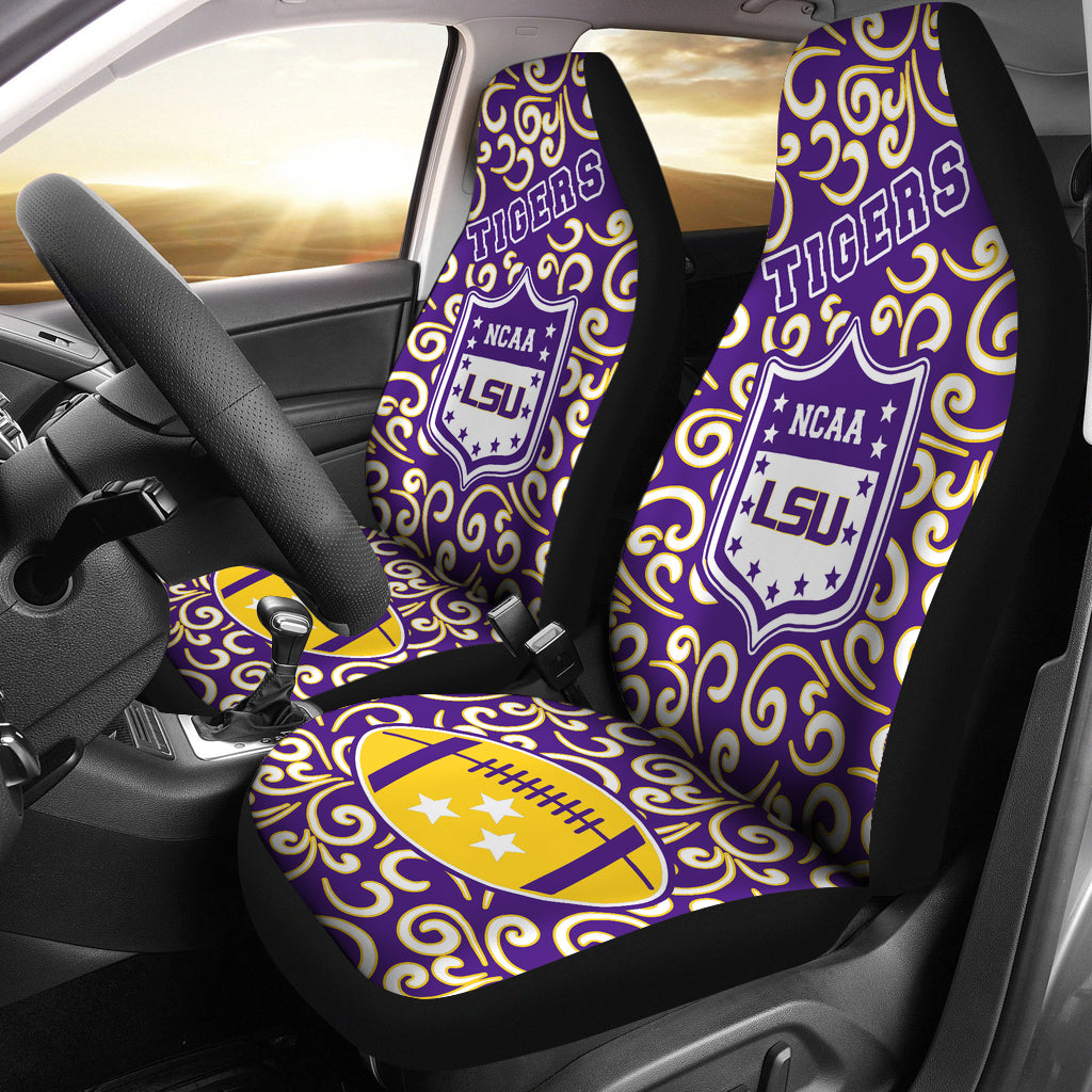 Artist SUV LSU Tigers Seat Covers Sets For Car